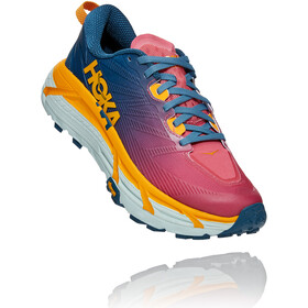 Hoka One One Mafate Speed 3 Shoes Women, moroccan blue/saffron